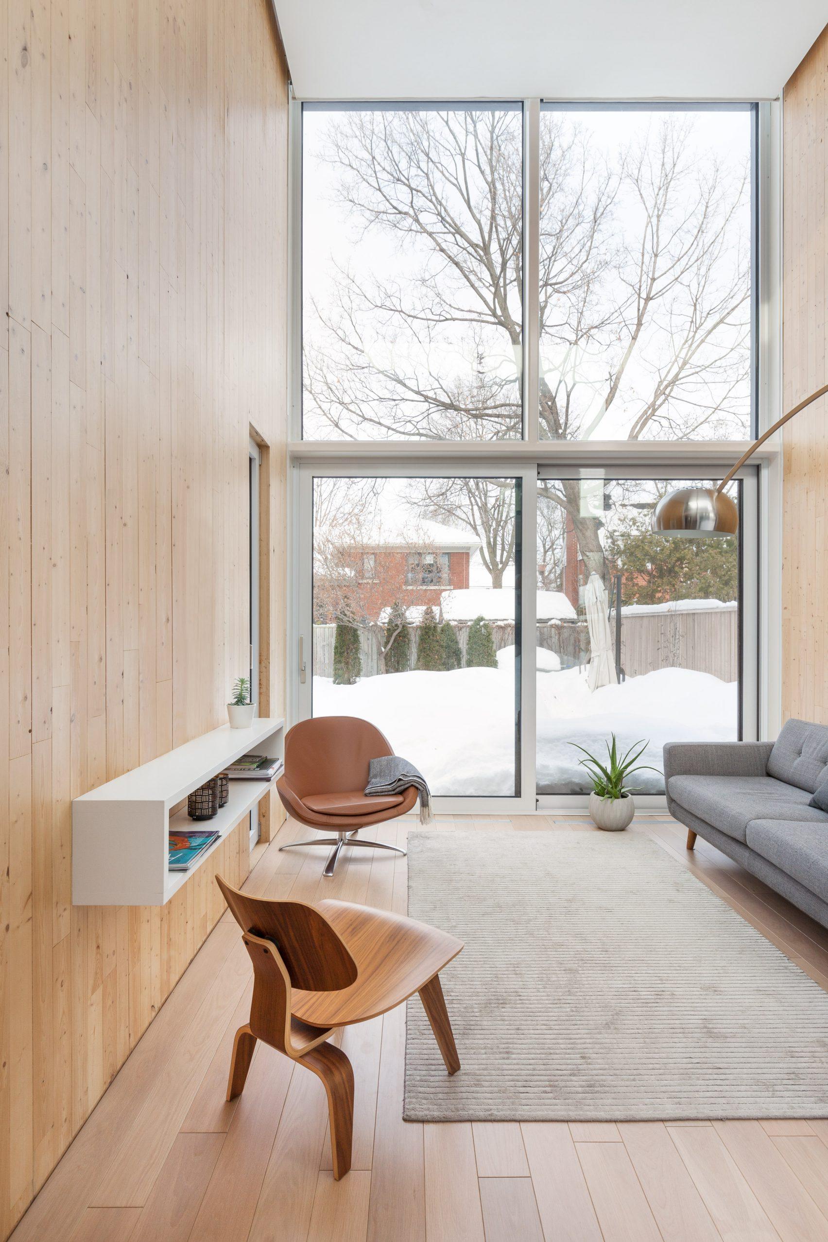 Pierre Ruel Architecture intérieur comptemporain Montréal Canada Pierre Thibault