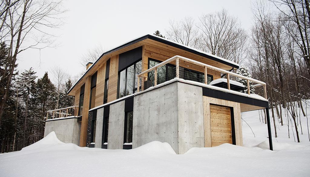 maison neuve contemporain sutton entrepreneur